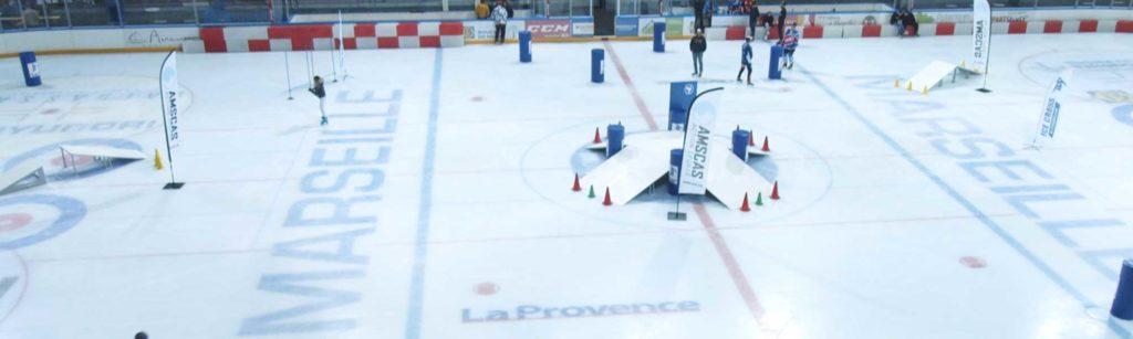 ice-cross et freestyle sports extremes à la patinoire de marseille amscas